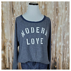 Anthro Modern Love Pullover by Sol Angeles Size M